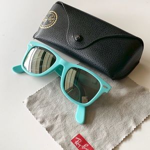 Turquoise Ray Bans